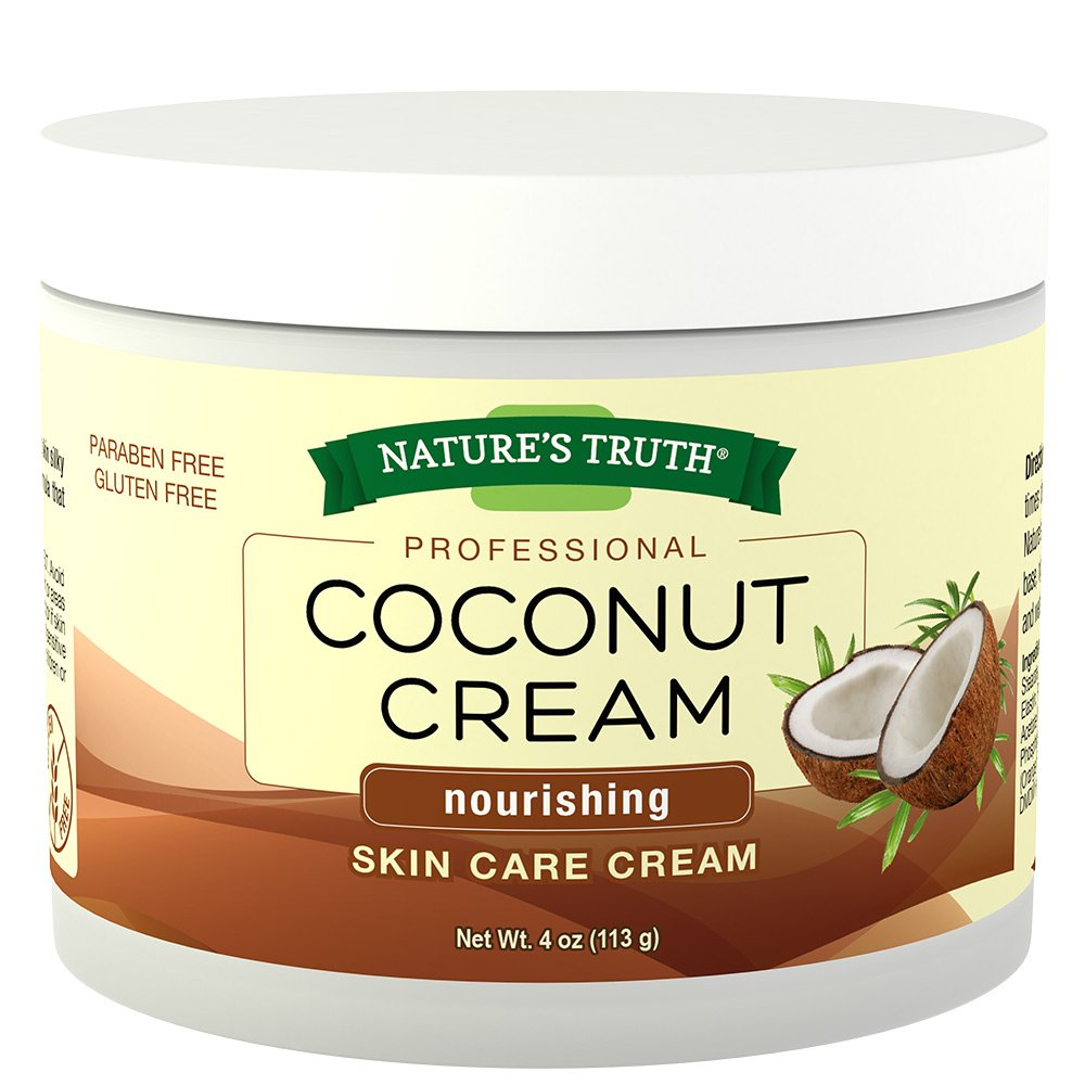 Natures Truth Natures Truth Professional Coconut Cream Nourishing Skin Care Cream, 4 Ounce