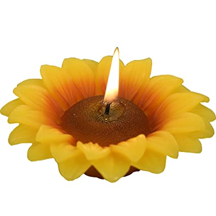 Amazon ILIKEPAR Lucky Flower Sunflower Birthday Candles For