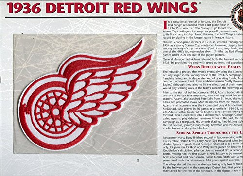 1936-Detroit-Red-Wings-Unsigned-Patch-with-Card