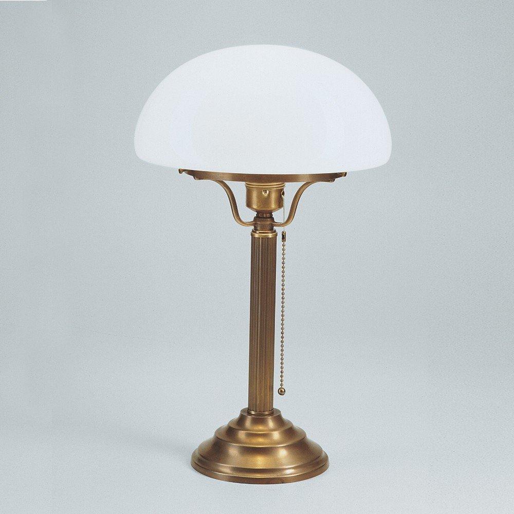 Pilzleuchte Schreibtischlampe Original Berliner Messing Z1-100op B