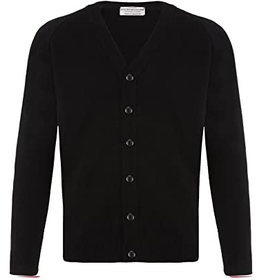74141ae8dc315e London Knitwear Gallery Mens Knitwear Casual Button Cardigan Vintage Black S
