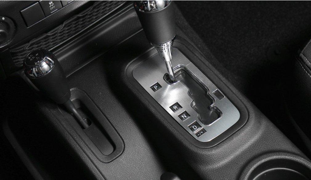 Purple E-cowlboy Aluminum Inner Accessories Trim Gear Frame Cover for Jeep Wrangler 2012 2013 2014 2015 2016 2017