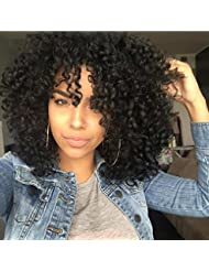 Amazon african american wigs extensions wigs aisi hair synthetic afro curly hair wigs for black woman pmusecretfo Images