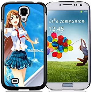 New Fashion Custom Designed Skin Case For Samsung Galaxy S4 I9500 i337 M919 i545 r970 l720 Phone Case With Phone Case For Long Hair School Girl Phone Case Cover