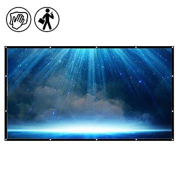 Pantalla de proyección portátil para proyectores, proyector ...