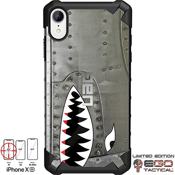 info for 83b17 2dcc7 Limited Edition Designs by Ego Tactical on a UAG Urban Armor Gear Case for  Apple iPhone Xr (6.1