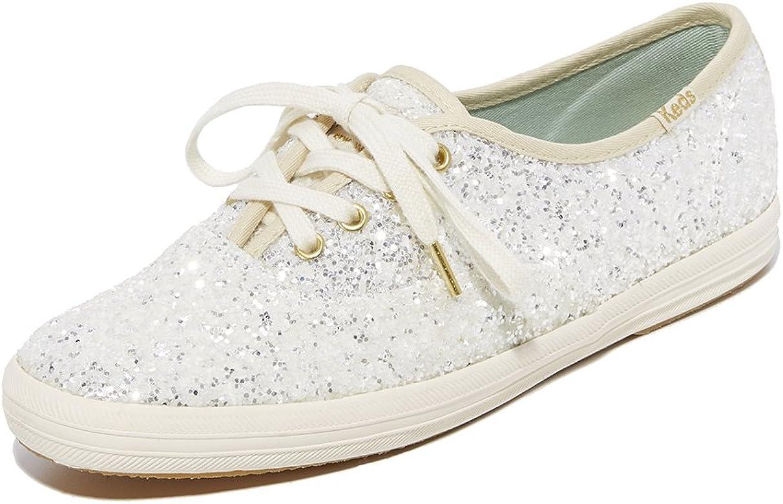 8afa0581a40c5 Women's X Kate Spade New York Glitter Sneakers, Cream, Off White, Metall.
