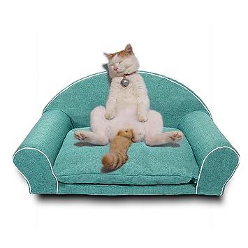 XAJGW Cama para Perros Mediana Cama ortopédica para Perros con Funda extraíble Lavable Cama para Perros