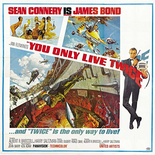 You Only Live Twice (1967) Original Movie Poster at Amazons ...