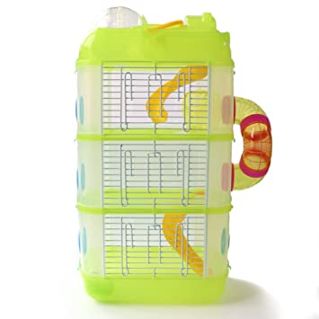 fantastic savings buy popular utterly stylish Cage pour hamster, Crittertrail 3 étages Habitrail Cristal ...