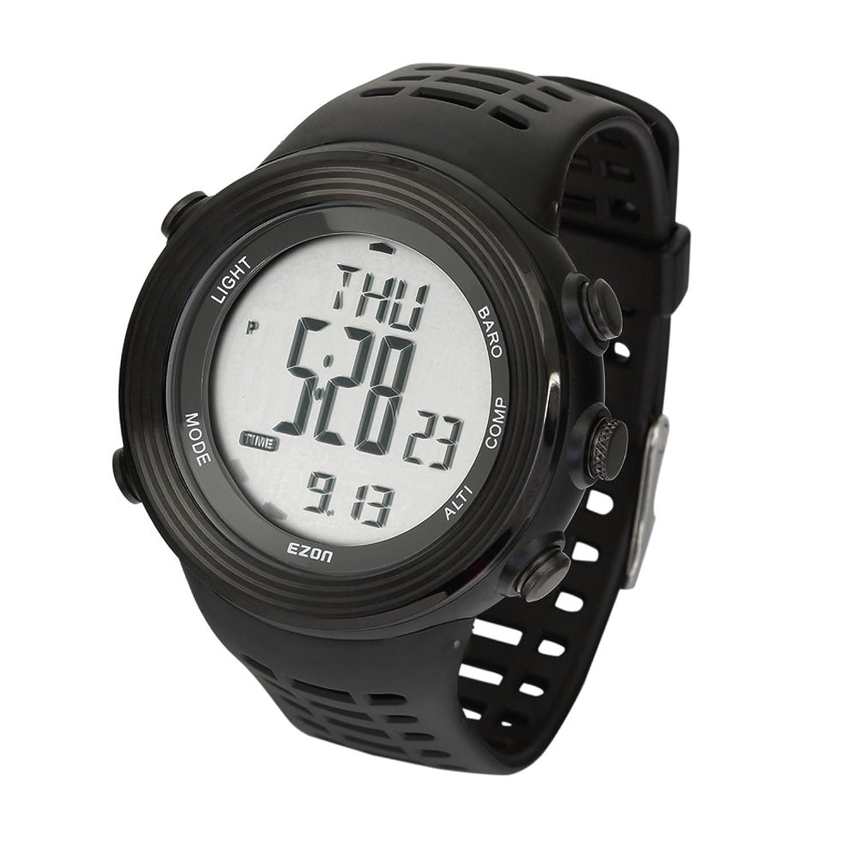 SHS h017e11 Wandern Outdoor Sport Armbanduhr mit Kompass HÖhenmesser Barometer Stoppuhr etc. Funktion