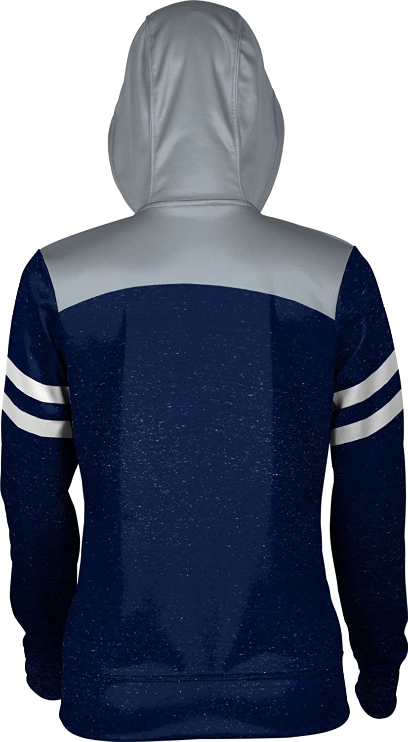 School Spirit Sweatshirt Monmouth University Girls Zipper Hoodie Game Time