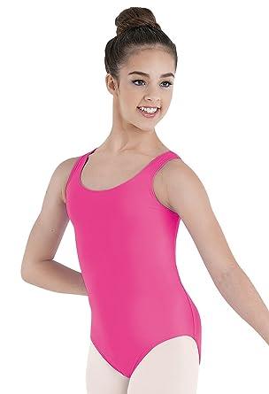 16c2ba989ef8 Amazon.com  Balera Leotard Girls One Piece For Dance Womens Tank ...