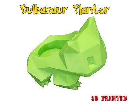 Amazon Bulbasaur Pokemon Pot Green Garden Outdoor