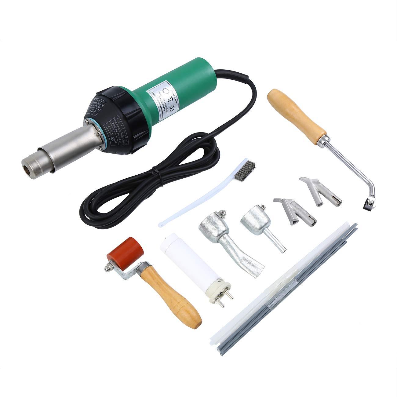 Ridgeyard 1600W Thermique Pistolet /à air Chaud Soudure Souder Soudage Electrique Plastique