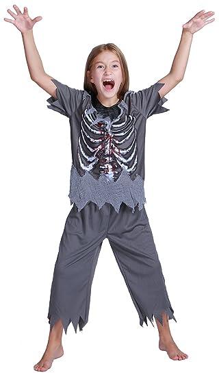 Amazoncom Teen Childrens Cospaly Skeleton Suit Kids Halloween