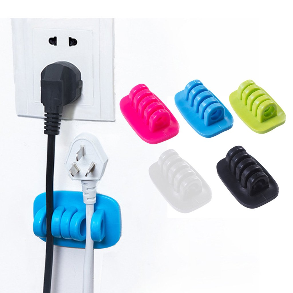Imported Cord USB Cable Clip Charger Holder Tidy Tie: Amazon.in ...