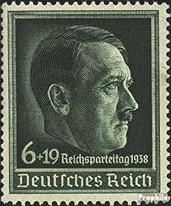 sellos para coleccionistas: alemán Imperio 672x (completa.edición.) con charnela 1938 Partido Nazi