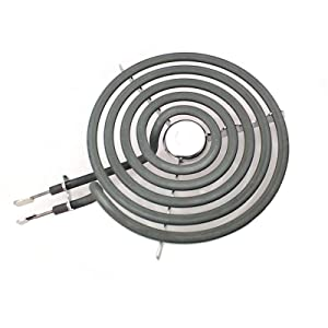 "ANTOBLE Electric Range Burner 6"" 5 Turns Heating Element Replacement for GE WB30M1 PS243867 AP2634727"