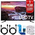 Samsung UN58MU6100 - 58-inch Smart MU6100 Series LED 4K UHD TV w/ Wifi w/ 1 Year Extended Warranty + Accessories Bundle