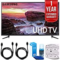 Samsung UN58MU6100 - 58-inch Smart MU6100 Series LED 4K UHD TV w/ Wifi w/ 1 Year Extended Warranty + Accessories Bundle