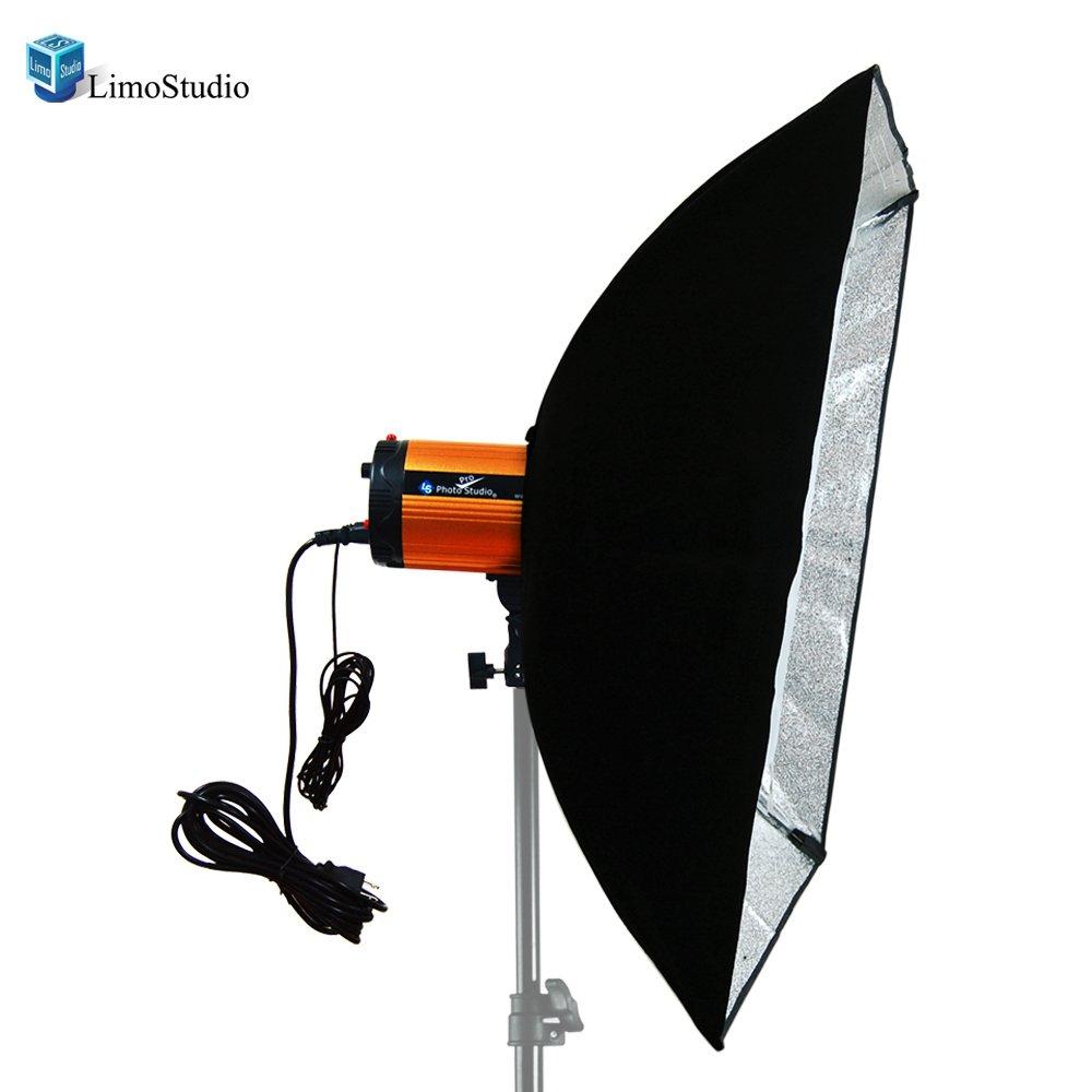 LimoStudio Photography Photo Studio 300W Flash Strobe Light Holder Soft Box Lighting Diffuser, AGG1443
