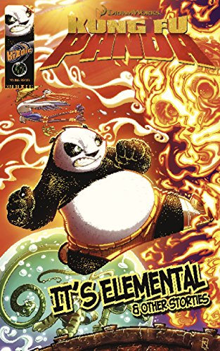 Kung Fu Panda: It's Elemental (with panel zoom): 2 (DreamWorks Graphic Novels) Zoom Type