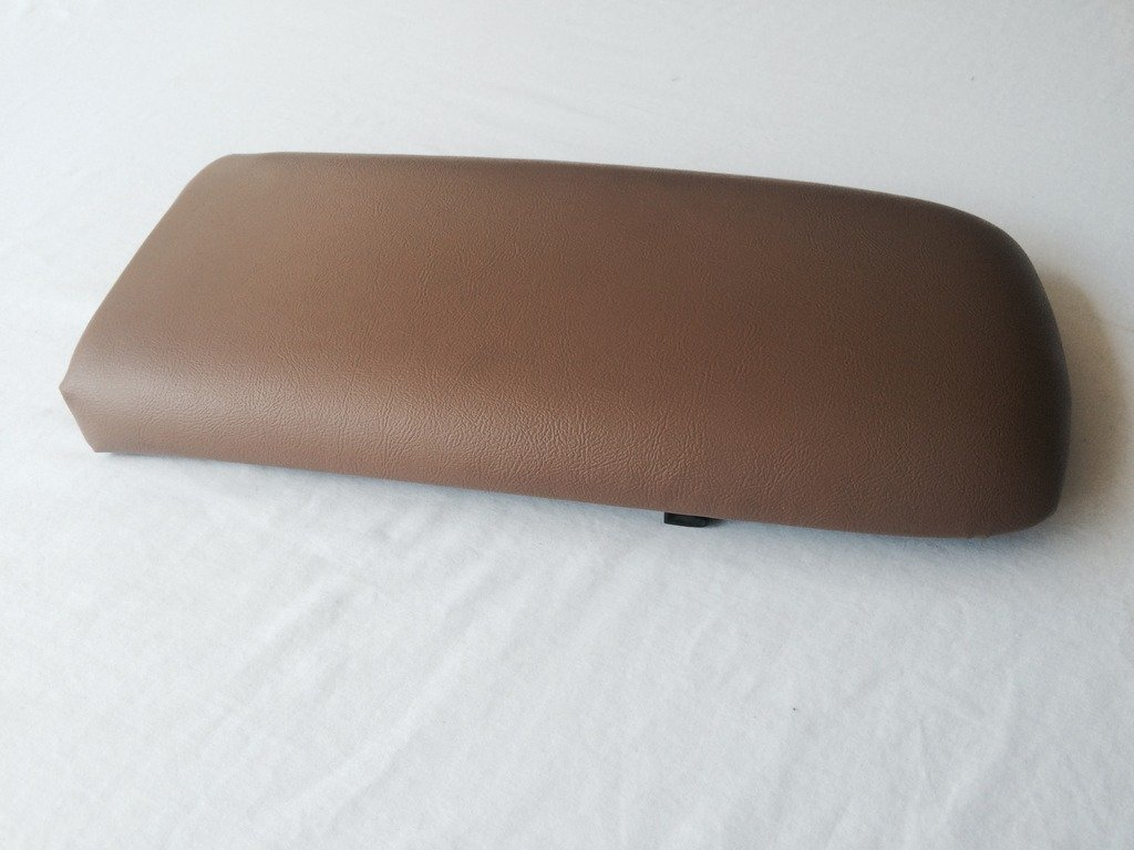 Ford Explorer armrest console replacement cover with staples 1997-05 Medium Prairie Tan