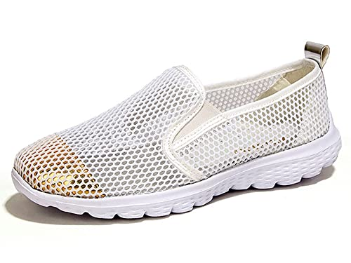 5a04c22118e54 Weideng Women's Summer Shoes Mesh Slip on Lightweight Athletic Quick Drying  Water Shoes