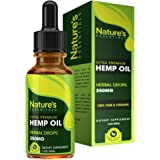Hemp Oil Drops :: 100% Pure Hemp Seed Extract :: All Natural Dietary Supplement, Rich in Omega 3 & 6 Fatty Acids for Skin & Heart Health :: 1 Fl. Oz. by Nature's Essentials