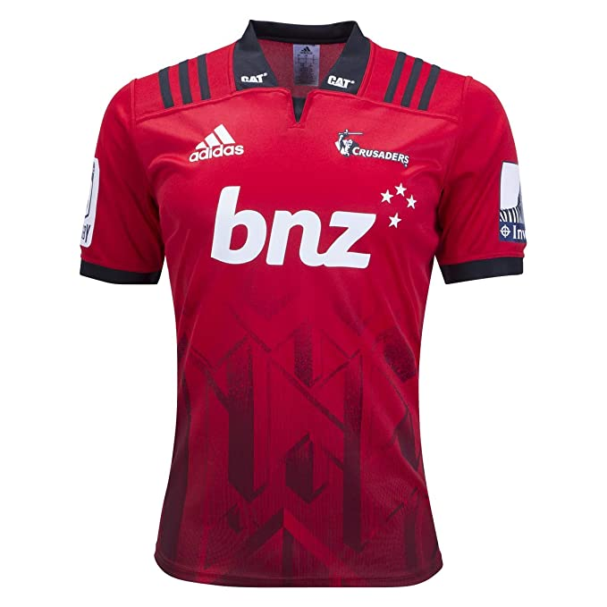 81c1daa48a7d1 Amazon.com: adidas Crusaders Home Rugby Jersey Red: Clothing