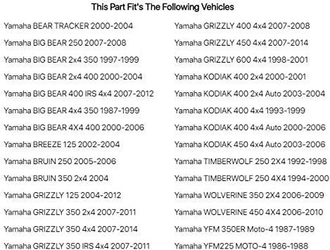 Left Hand Polished Motion Pro Brake Lever Fits Yamaha Bear Tracker 2000-2004