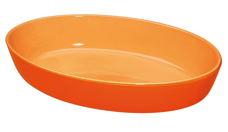 Küchenprofi Auflaufform oval, 33cm Mandarine/Orange KP07050040
