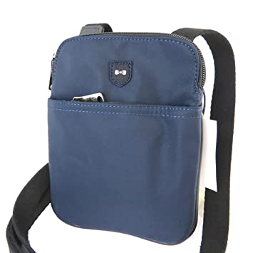 Bag worn-crusader  Eden Park navy (slim)- 20.5x16.5x2 cm  (8.07  x6.50  x0.79  ).  Amazon.co.uk  Luggage da891bb590