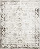 Unique Loom 3134039 Sofia Collection Traditional Vintage Beige Area Rug, 8' x 10' Rectangle,
