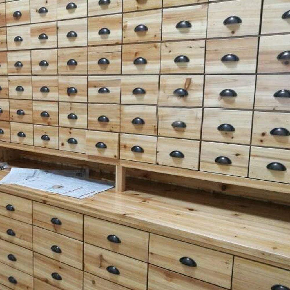 Plata Xinlie Tiradores Muebles Antiguos Muebles de Ccocina Armario Caj/ón Tiradores Perillas Retro Muebles de Muebles Armarios Puerta Gabinete Tirador Tiradores y Perillas Shell Forma 24 PCS
