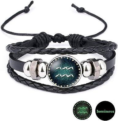 bracelet cuir astrologie