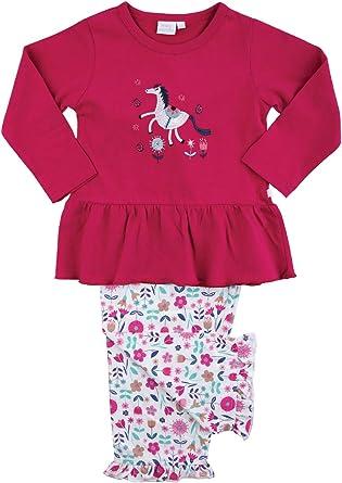 Mini Vanilla London Pijama de unicornio con estampado floral para niñas con estampado floral y un unicornio para mayor comodidad de algodón suave de ...