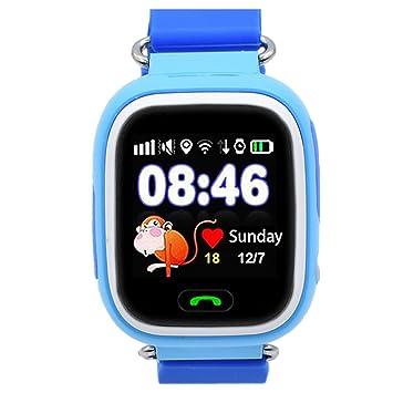 Reloj Inteligente para Niños con GPS, Reloj Inteligente para Niños con Rastreador GPS y Soporte