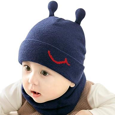 DORRISO Gorra de Bebe Otoño Invierno Cómodo Calentar Pequeña Gato Gorro Linda Sombrero de Niño Adecuado para Bebé de 1-4 años: Amazon.es: Ropa y accesorios