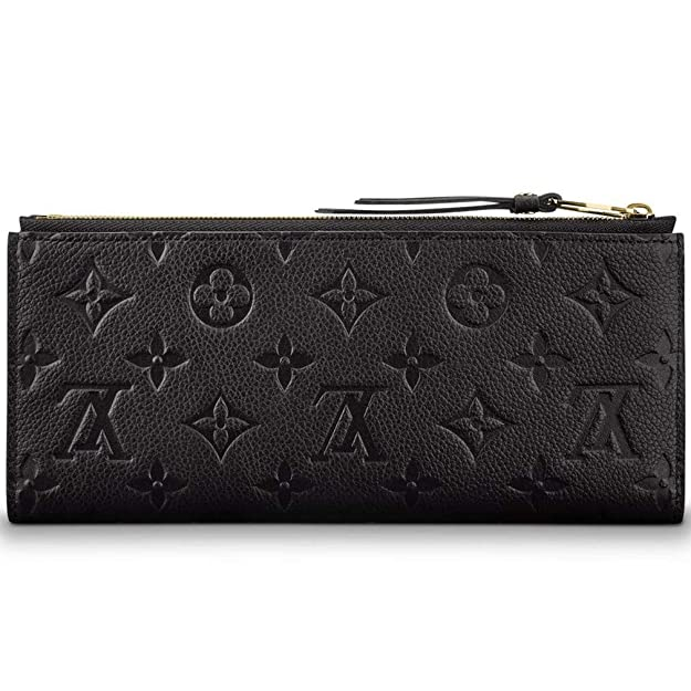 aed4a28b879c Amazon.com  Louis Vuitton Monogram Empreinte Portafoglio Adèle Wallet Black  Article  M62528  Shoes