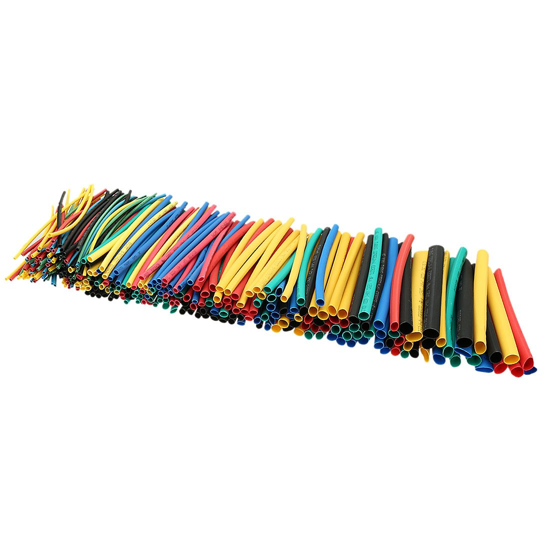 uxcell 410Pcs 2:1 Heat Shrink Tubing Tube Sleeving Wire Cable 5 Color 10 Sizes by uxcell (Image #3)