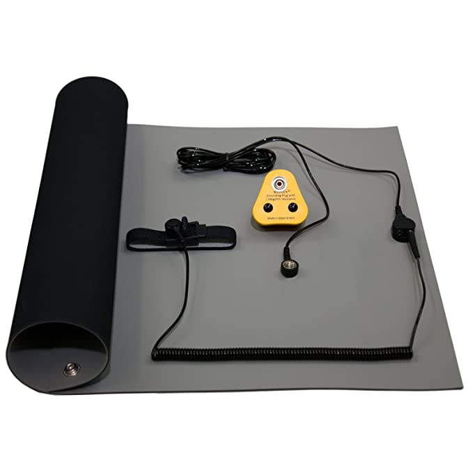 Awe Inspiring Noshock Anti Static Esd Grounding High Temperature Soldering Station Work Bench Mat Kit Uk Kit 1000X500Mm Caraccident5 Cool Chair Designs And Ideas Caraccident5Info