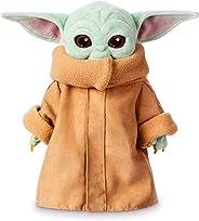 Yoda Plush Toy The Mandalorian Baby Yoda Stuffed Doll 12 inch for Kids