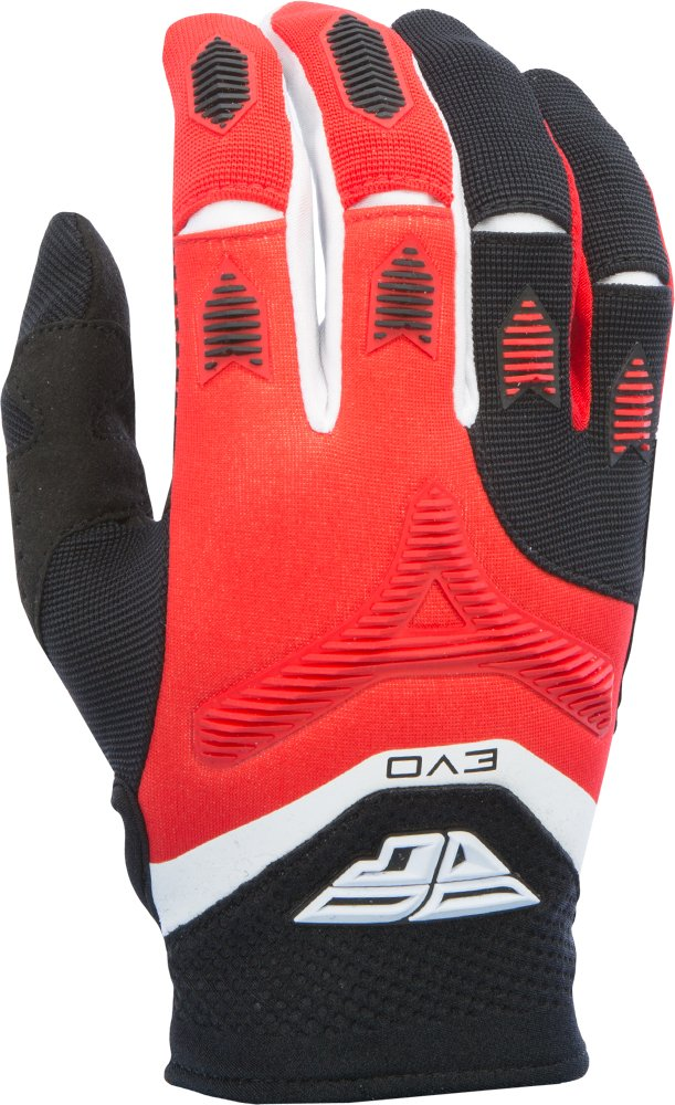 Fly Racing Unisex-Adult Eva Gloves Red//Black XXX-Large 370-11213