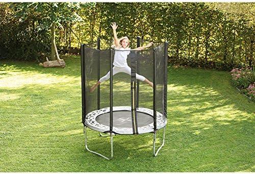 Cama elástica jardín con un diámetro de 190 cm, de vaca: Amazon.es: Deportes y aire libre