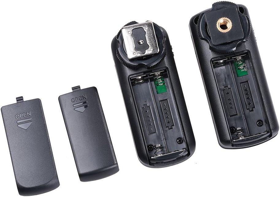 Godox 16 channels Fc-16 1 Transmitter + 2 Receiver Nikon Studio 2.4Ghz Remote Wireless Flash Trigger with Shutter for Nikon Camera such Nikon D5000 D4 etc