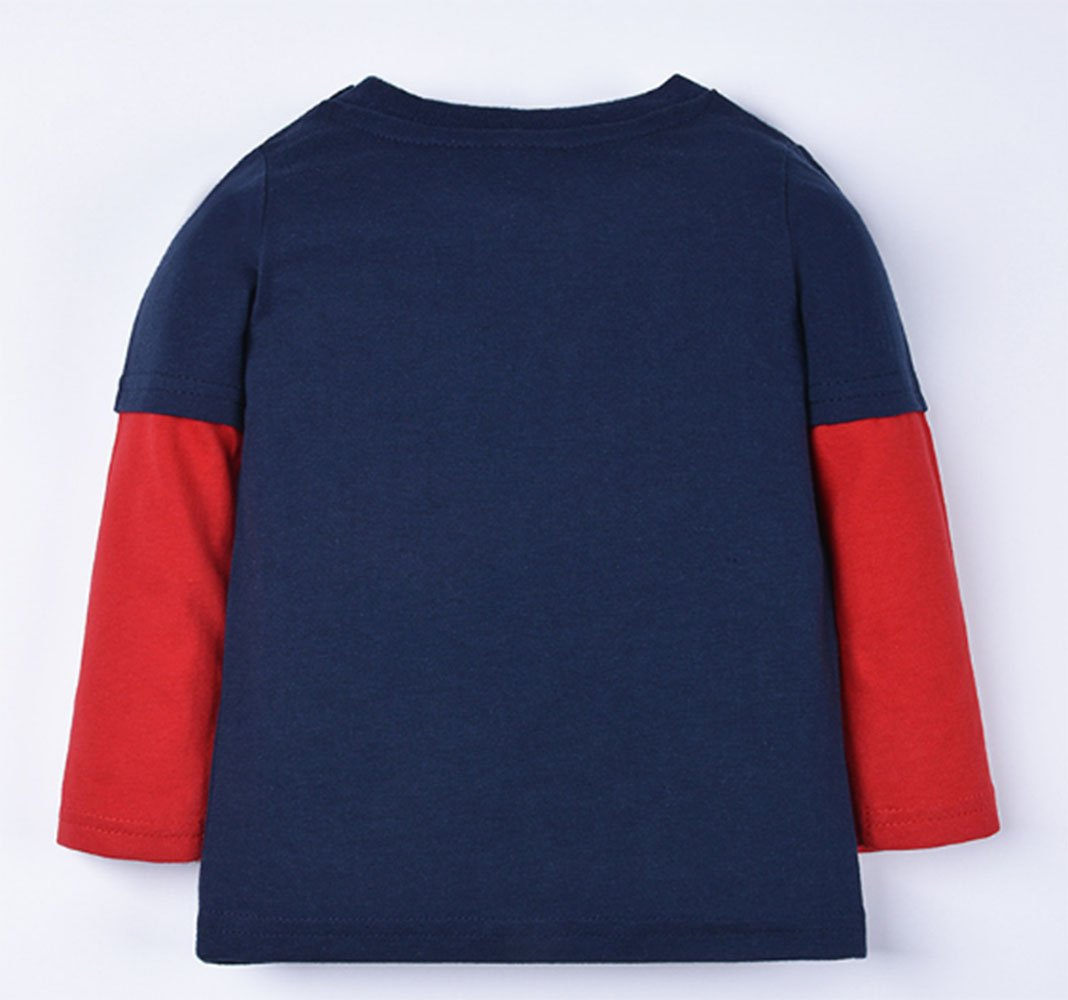 Crocodile Little Boys' Pajamas 100% Cotton Long Sleeve Clothes Toddler Kids T-Shirt by LOVE ROSE (Image #2)