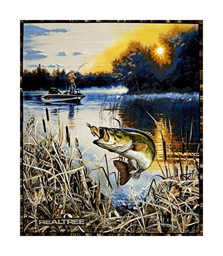 7 best fishing quilt panels