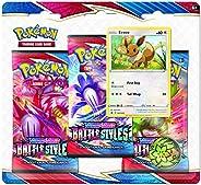 Pokemon TCG: Sword & Shield Battle Styles Blister Pack with 3 Booster Packs (Random D